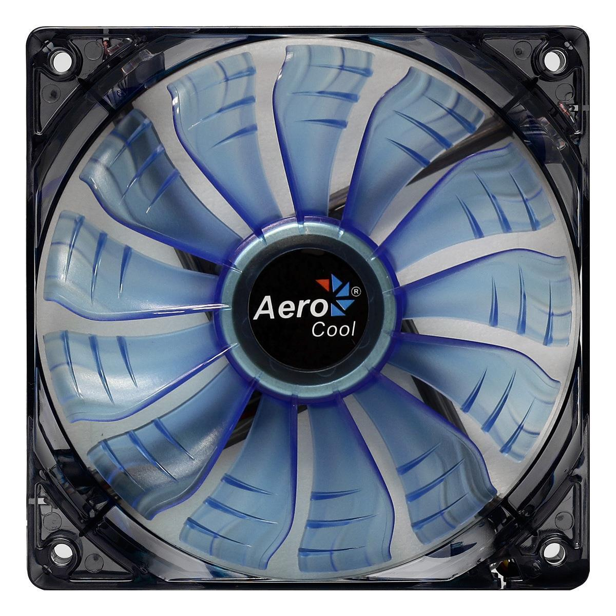 Aerocool Air Force 12Cm 120mm Blue Led Case Fan