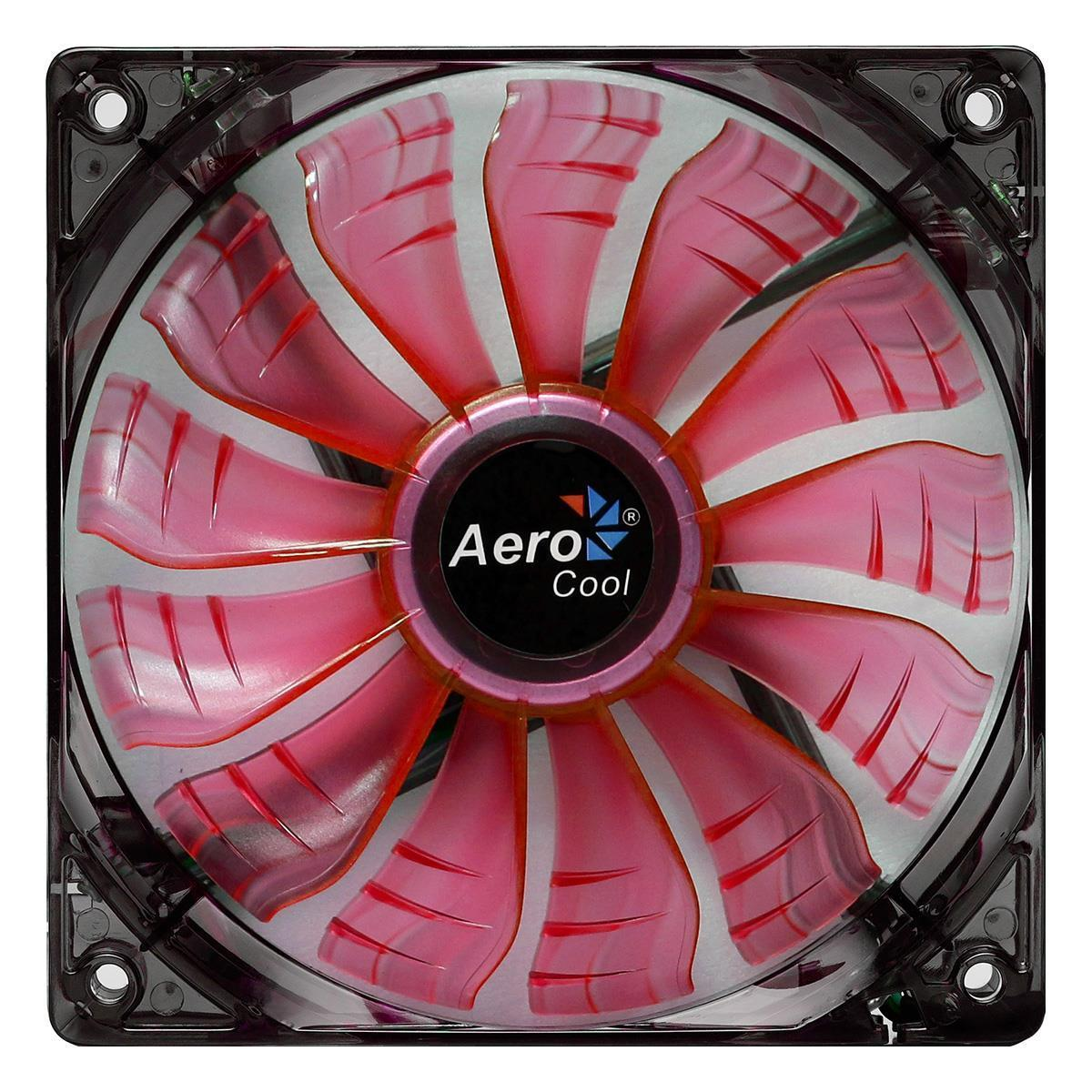 Aerocool Air Force 12Cm 120mm Red Led Case Fan