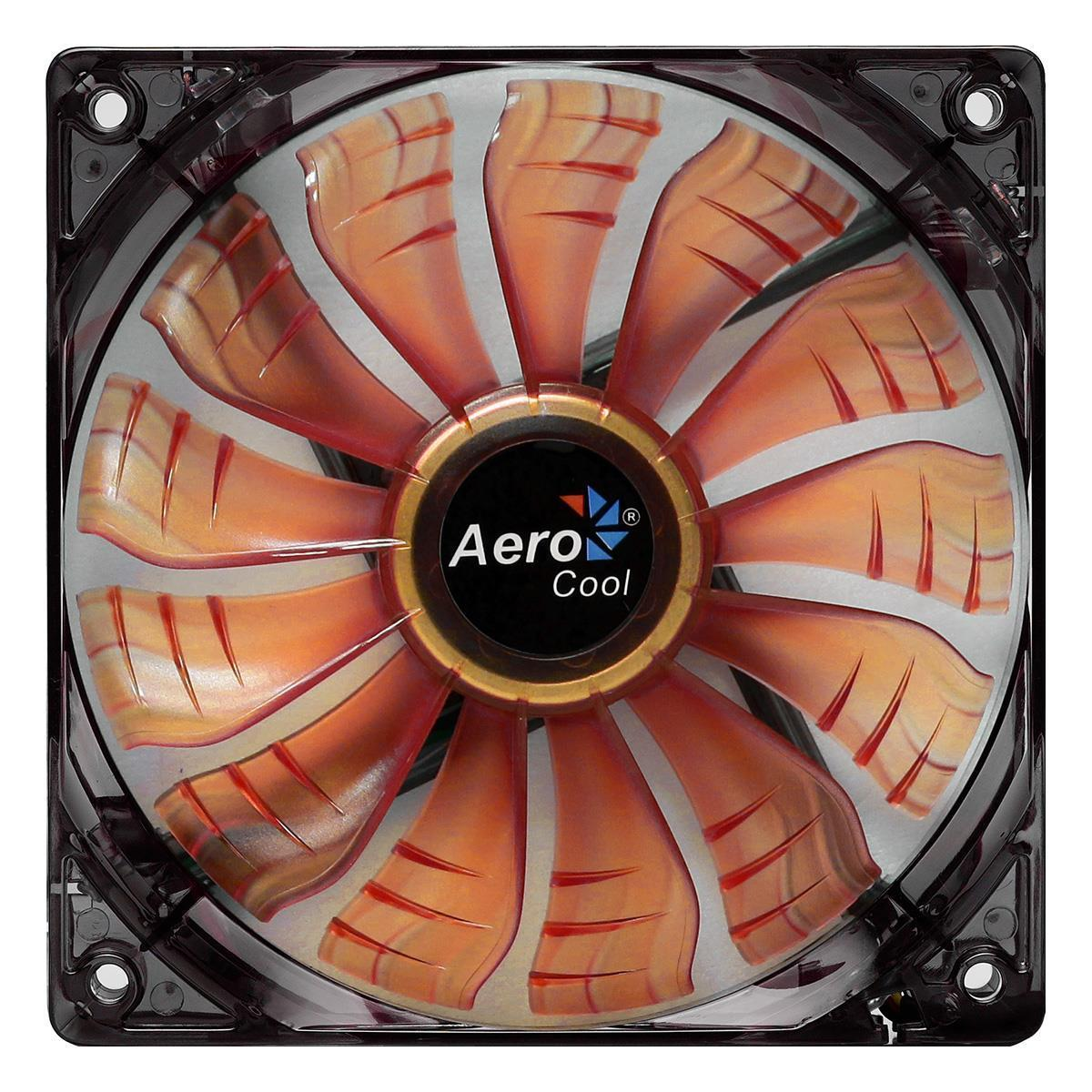 Aerocool Air Force 12Cm 120mm Orange Led Case Fan