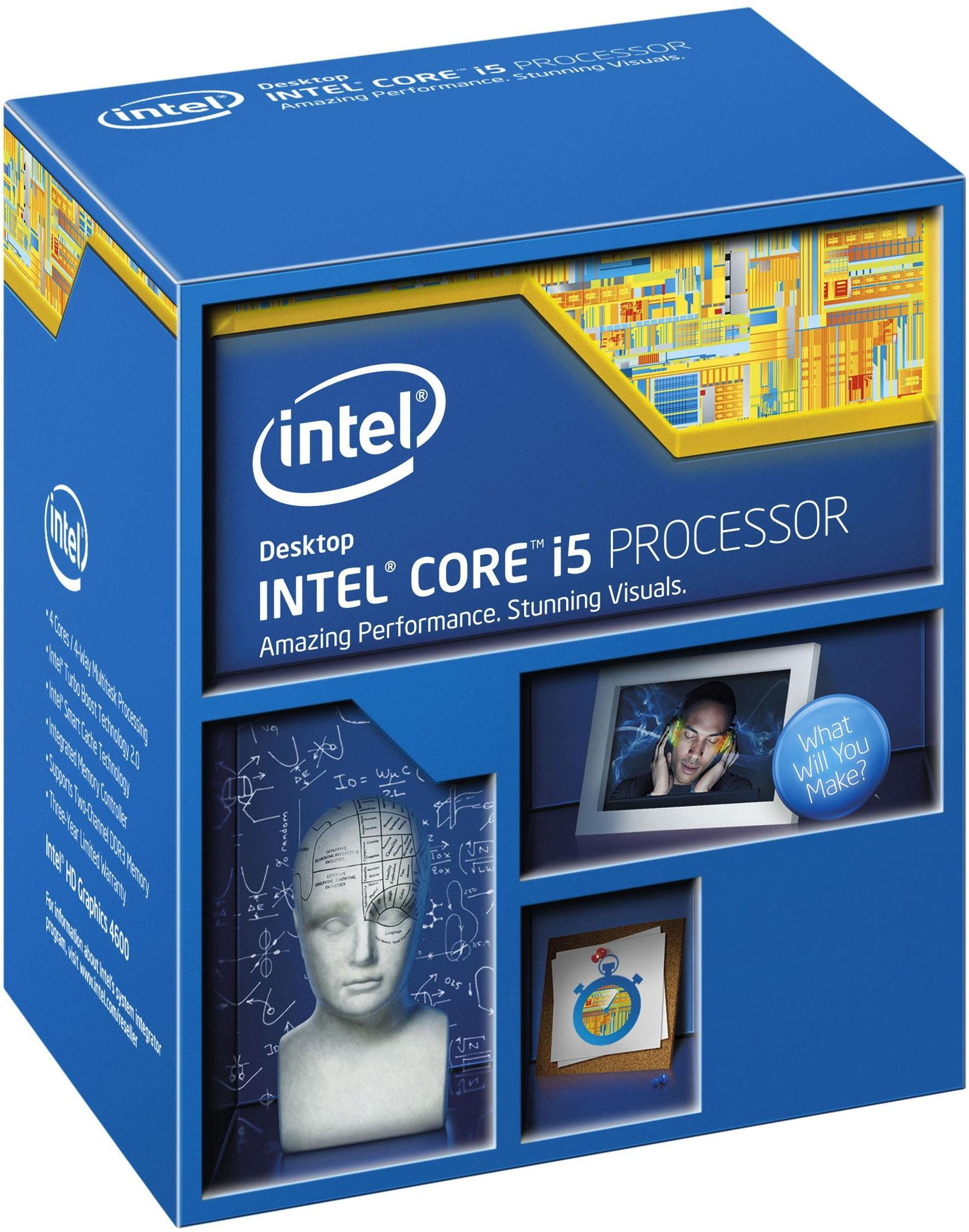 Intel Core i5 4690 3.5Ghz Haswell Refresh Quad Core Processor CPU