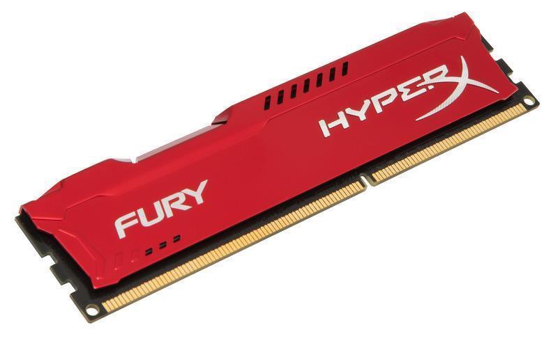 HyperX Red Fury 4GB RAM Memory