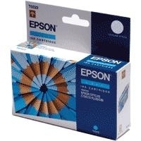 Genuine Epson T0322 Cyan Ink Cartridge C13T032240