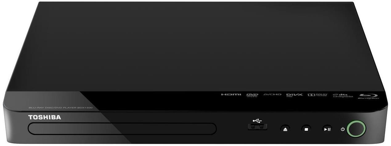 Toshiba BDX1500KB Blu-Ray & DVD Player