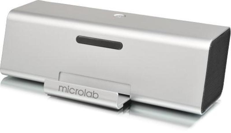 Microlab MD220 small Dock 2W RMS rechargeable speaker