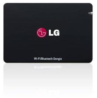LG AN-WF500 Wi-Fi® Bluetooth® USB Dongle for Select 2014 LG TVs