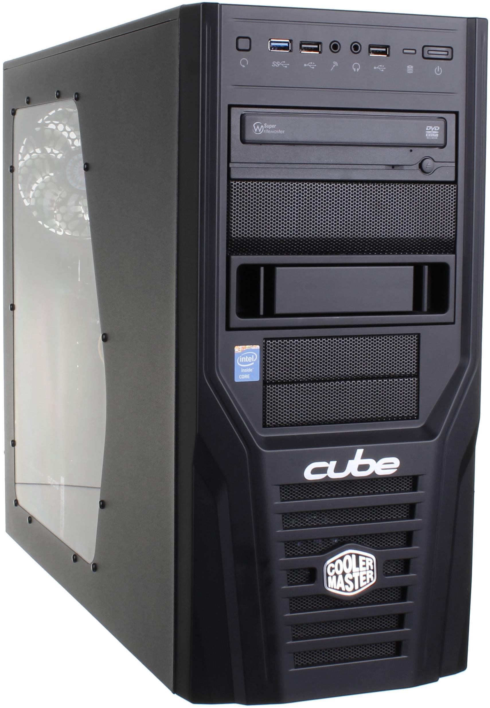 Cube Cyclone Gaming PC Core i5 with Radeon R9 270X HAWK Graphics