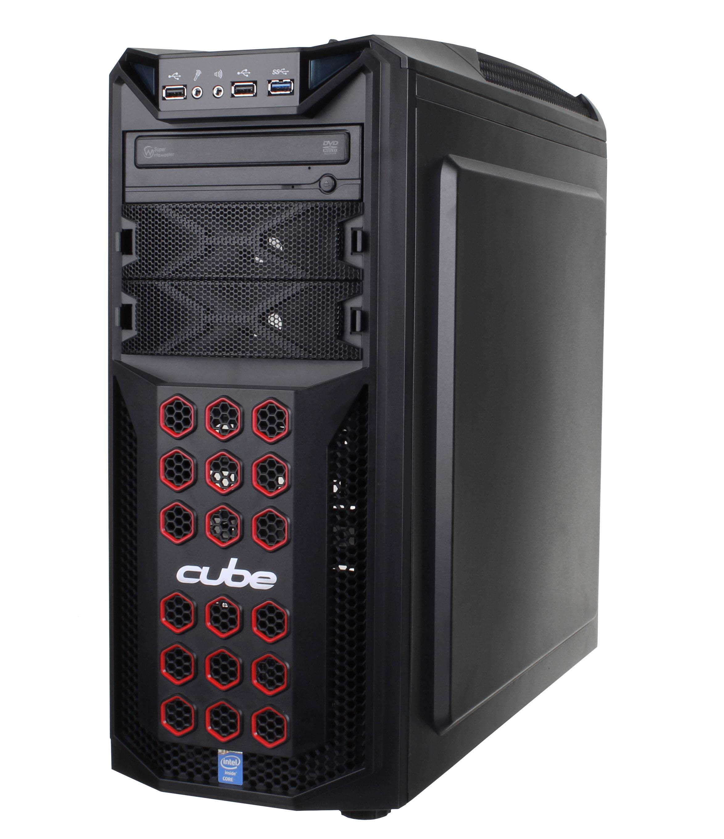 Cube Raptor Gaming PC Core i5 with Radeon R7 265 OC Graphics