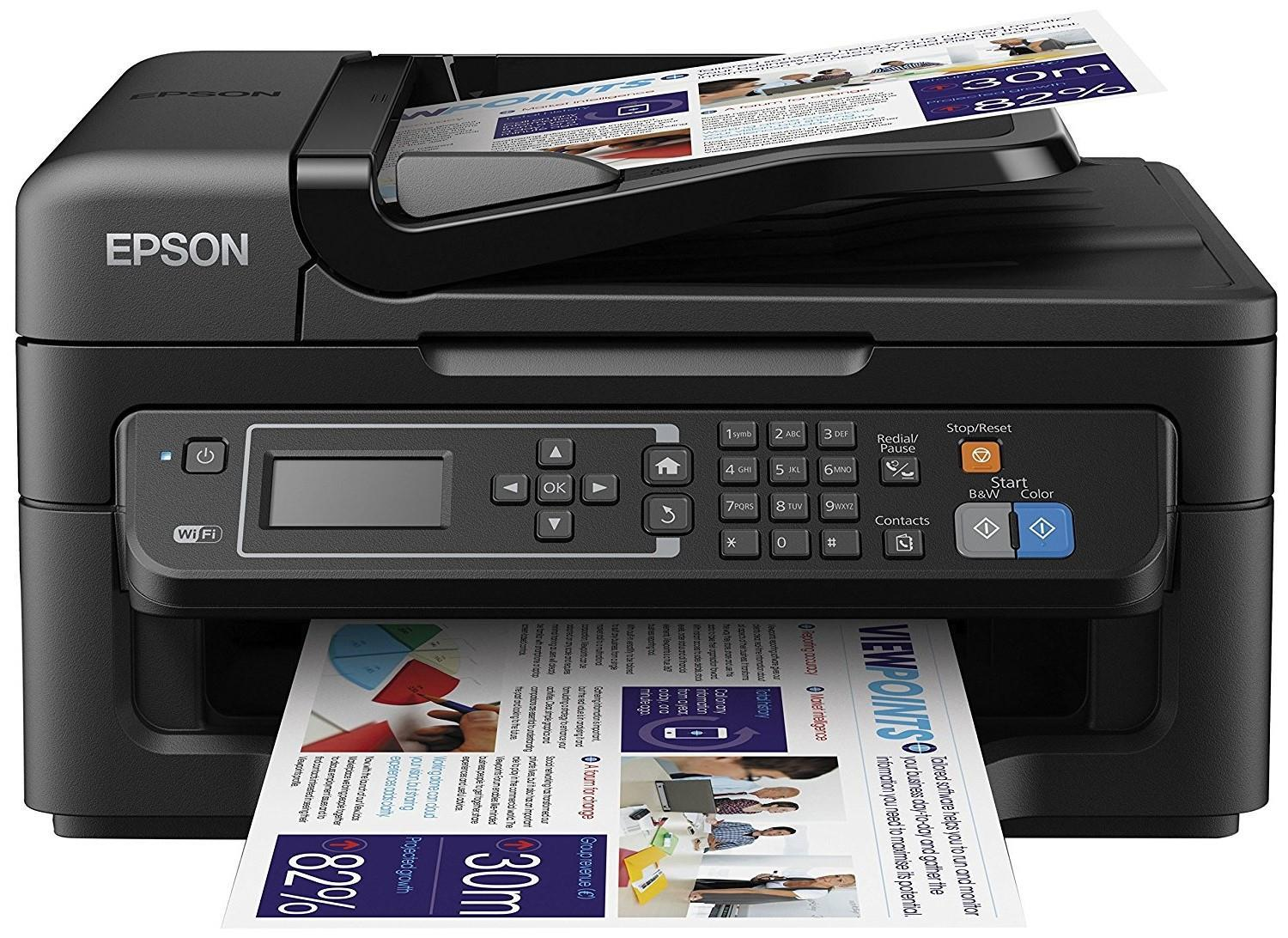 Epson Workforce WF-2630 All in One Colour Wireless Inkjet Printer wf2630
