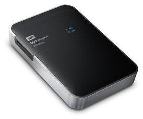 WD My Passport Wireless WDBK8Z0010BBK 1TB Wi-Fi Mobile Storage Drive