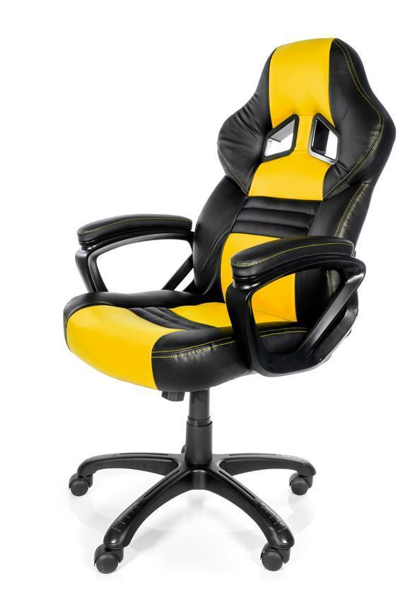 Arozzi Monza Gaming Chair Yellow Only £119.99