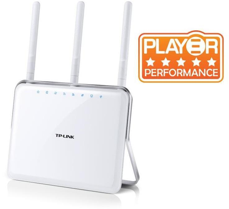 New Wireless TP-Link Dual Band Gigabit ADSL2+ Modem Router
