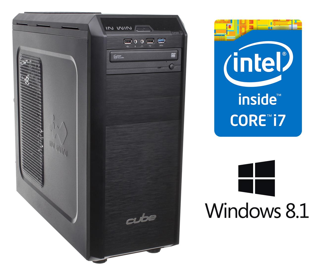 Cube Deluxe Core i7 Desktop System