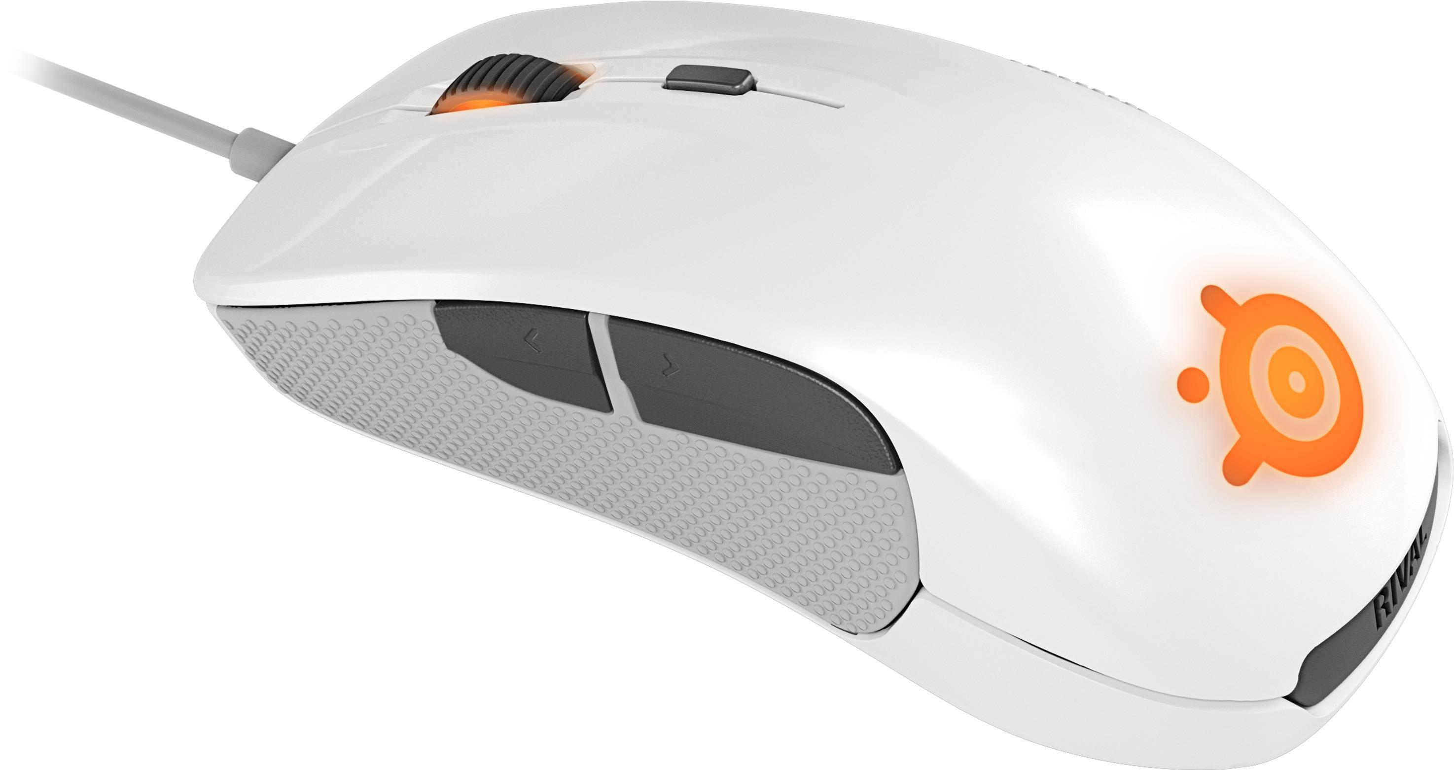 SteelSeries Rival Gaming Mouse White Limited Edition