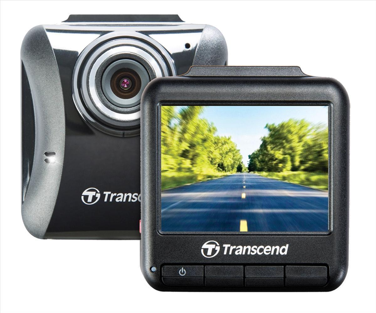 Transcend DrivePro 100 (16GB) Car Video Recorder with Suction Mount (Black)