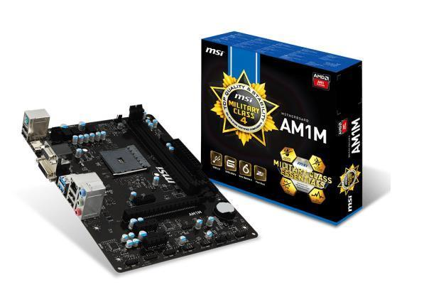 MSI AM1M Motherboard