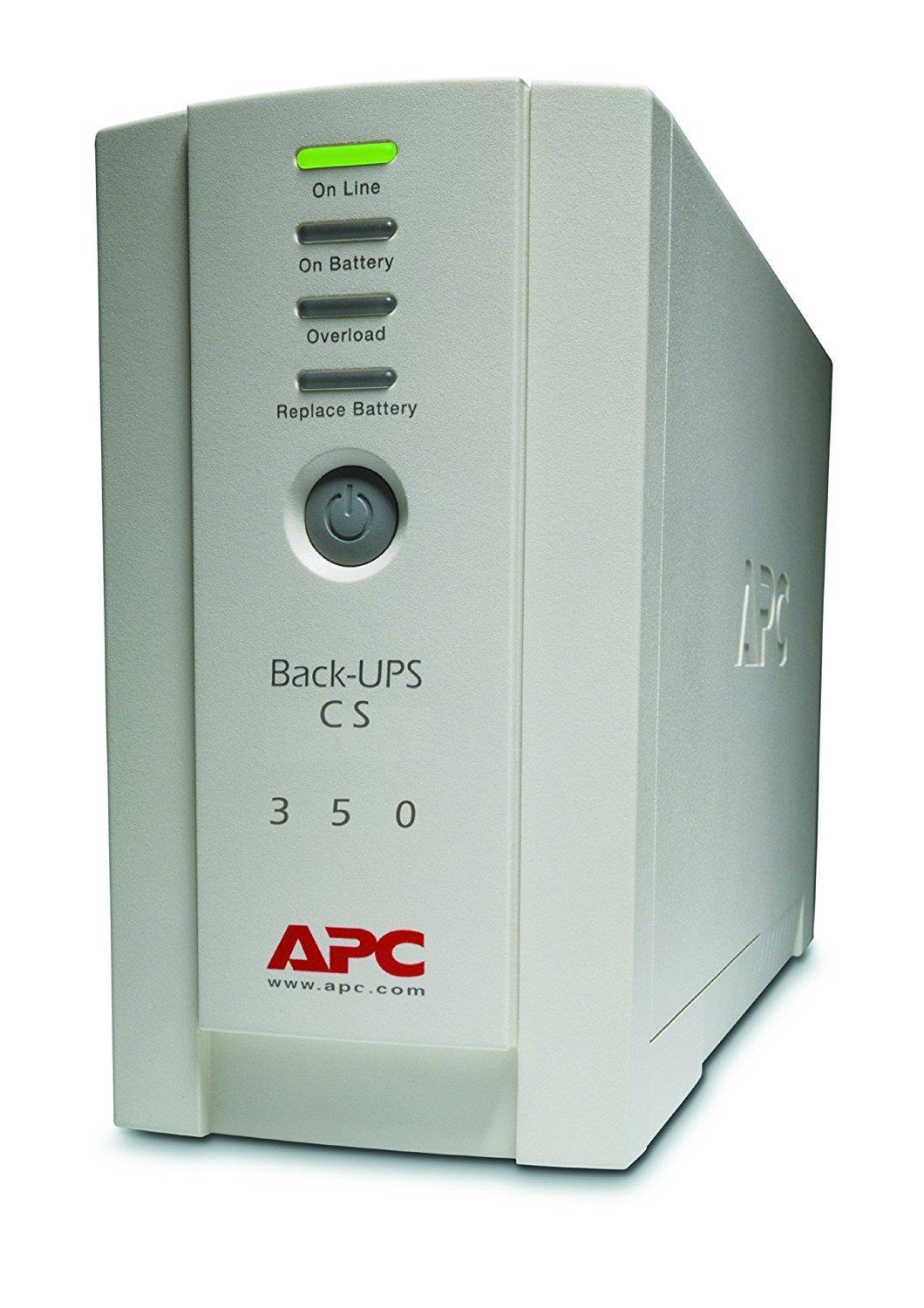 APC Back UPS CS 350VA USB or Serial  Data line Surge Protection