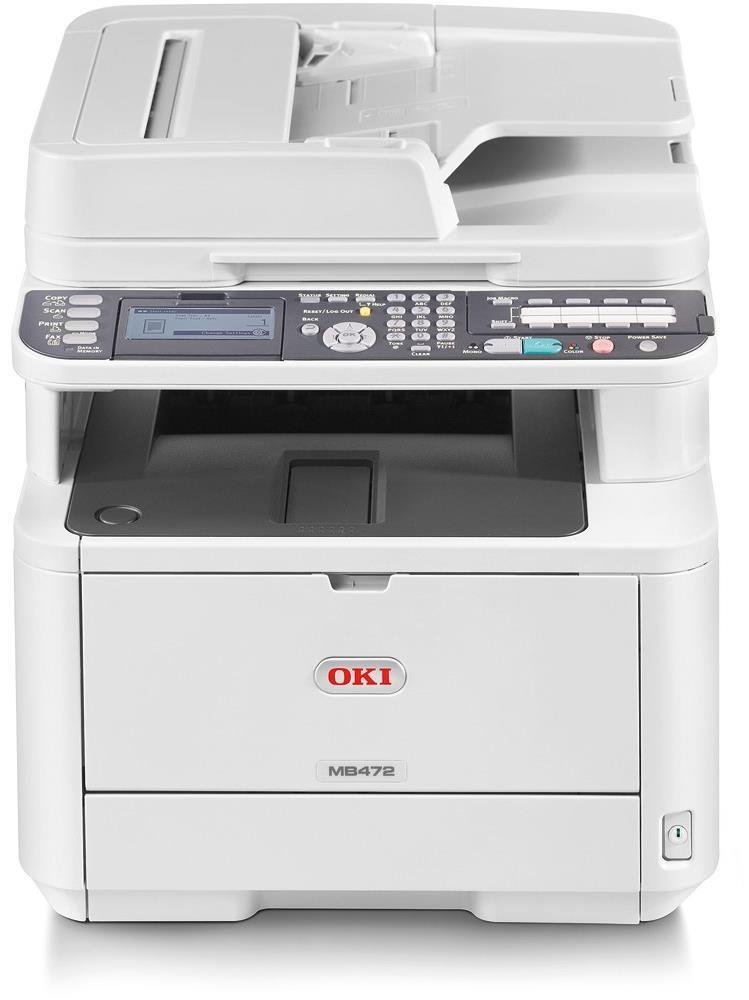 OKI MB472dnw A4 Mono Multifunction LED Laser Printer