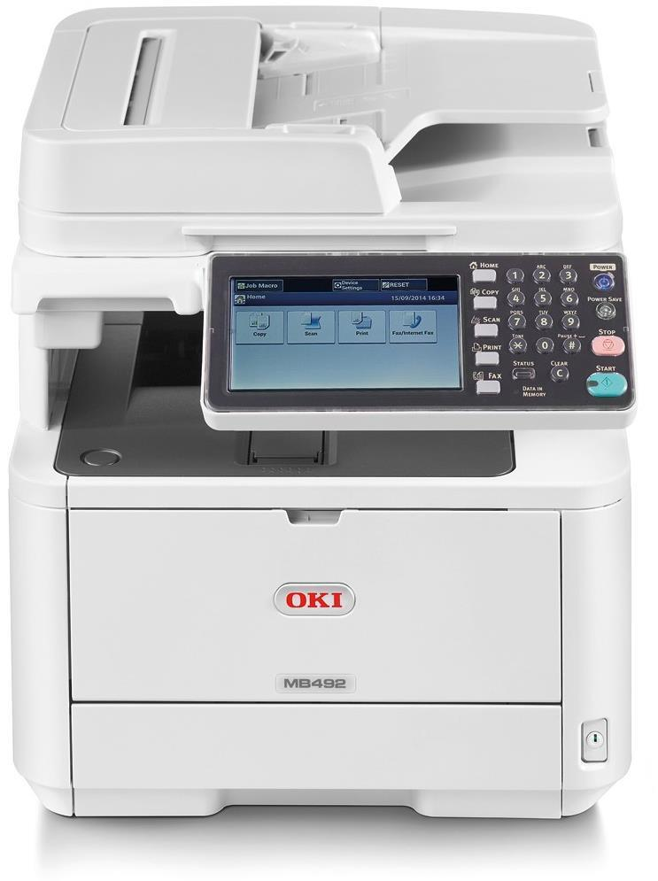 OKI MB492dn A4 Mono Multifunction LED Laser Printer