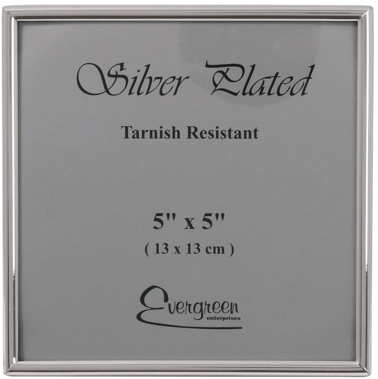 Evergreen Tarnish Resistant Thin Edge Single Photo/Picture Frame