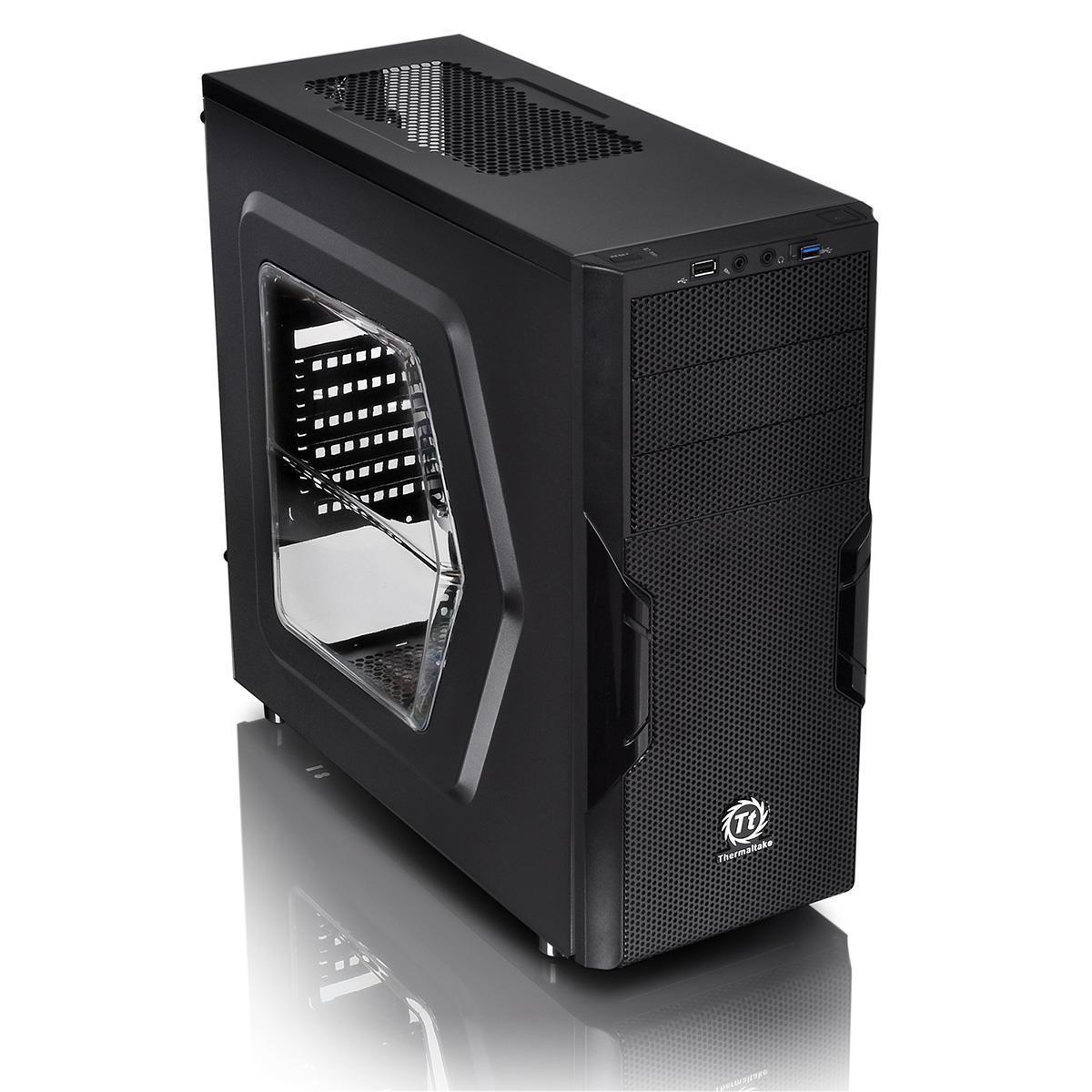 Cube Green Challenger Gaming PC System