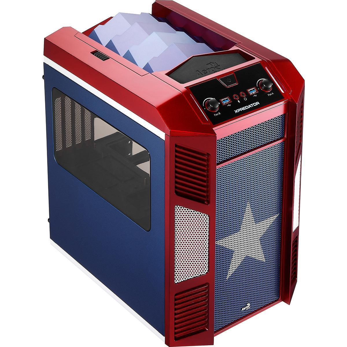 Cube Mini Patriot Gaming PC AMD A10 with Radeon R7 260X 2Gb Graphics