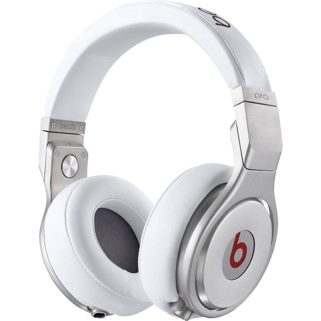 Apple Beats Pro Over-Ear Wired Stereo Headphones (White)