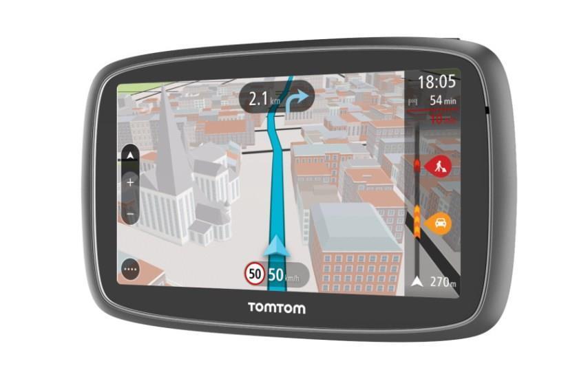 Tomtom GO 5100 Sat Nav with Worlde Maps