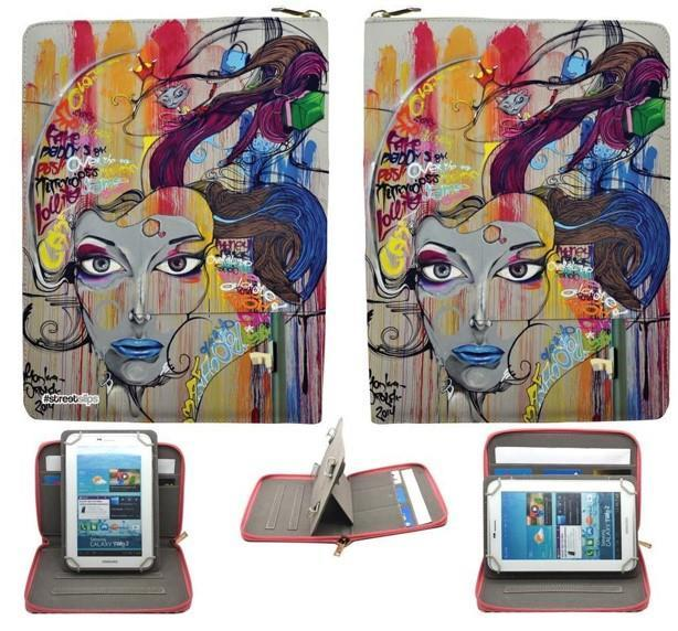 Streetslips Limited Edition Graffiti Face Tablet Case