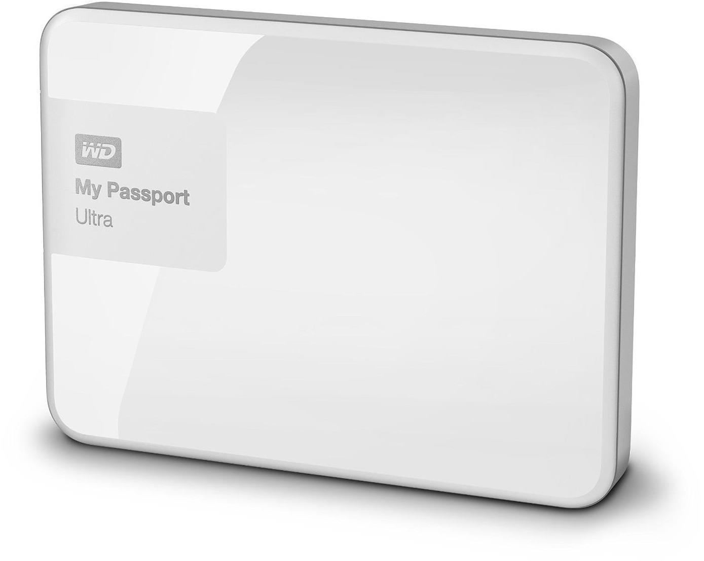 Wd My Passport Ultra Wdbbkd0020bwt 2 Tb External Hard Drive Book 6tb Usb 30 Harddisk White And 20 Compatibility Local Cloud Backup
