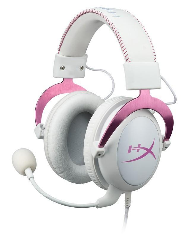 HyperX PINK Gaming Headset! Limited Stocks! Great for Valentines Day!
