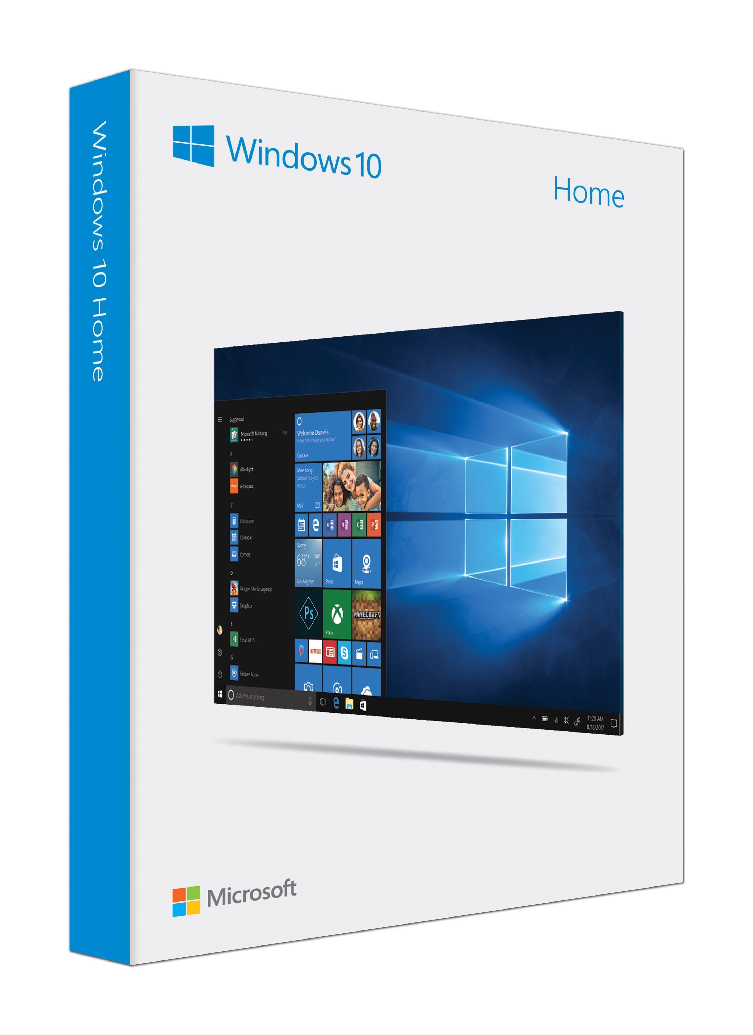 Microsoft Windows 10 Home System Builder OEM DVD 64-bit