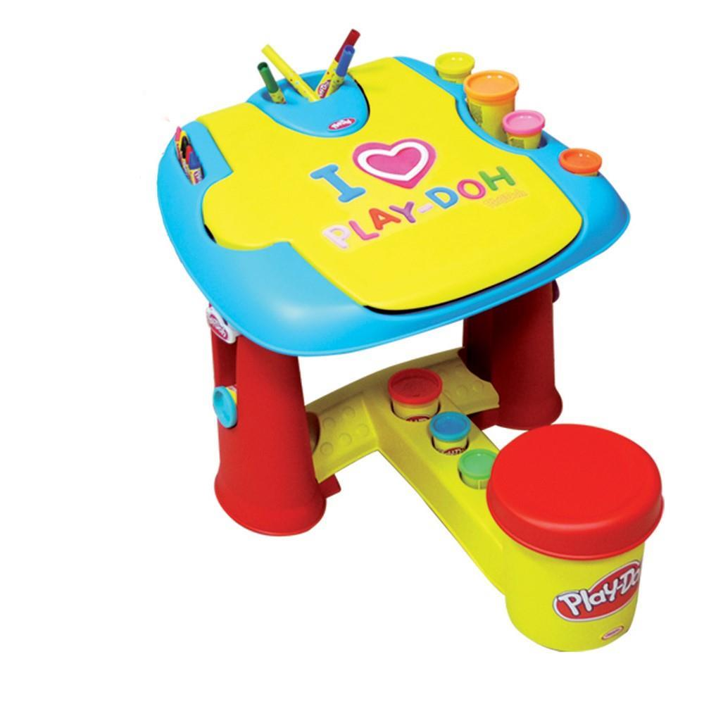 Play Doh My First Desk With 20 Piece Accessory Pack