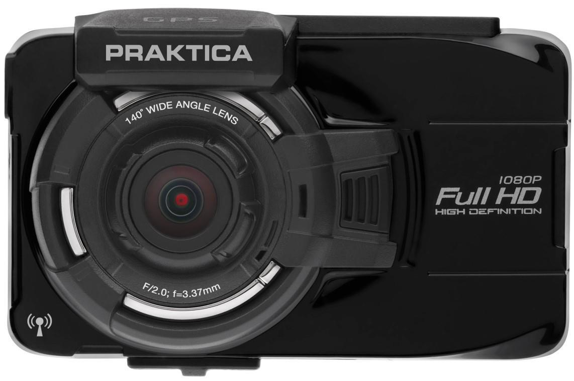Praktica 10GW Full HD Dash Camcorder with Gps Tracking and Wi-Fi