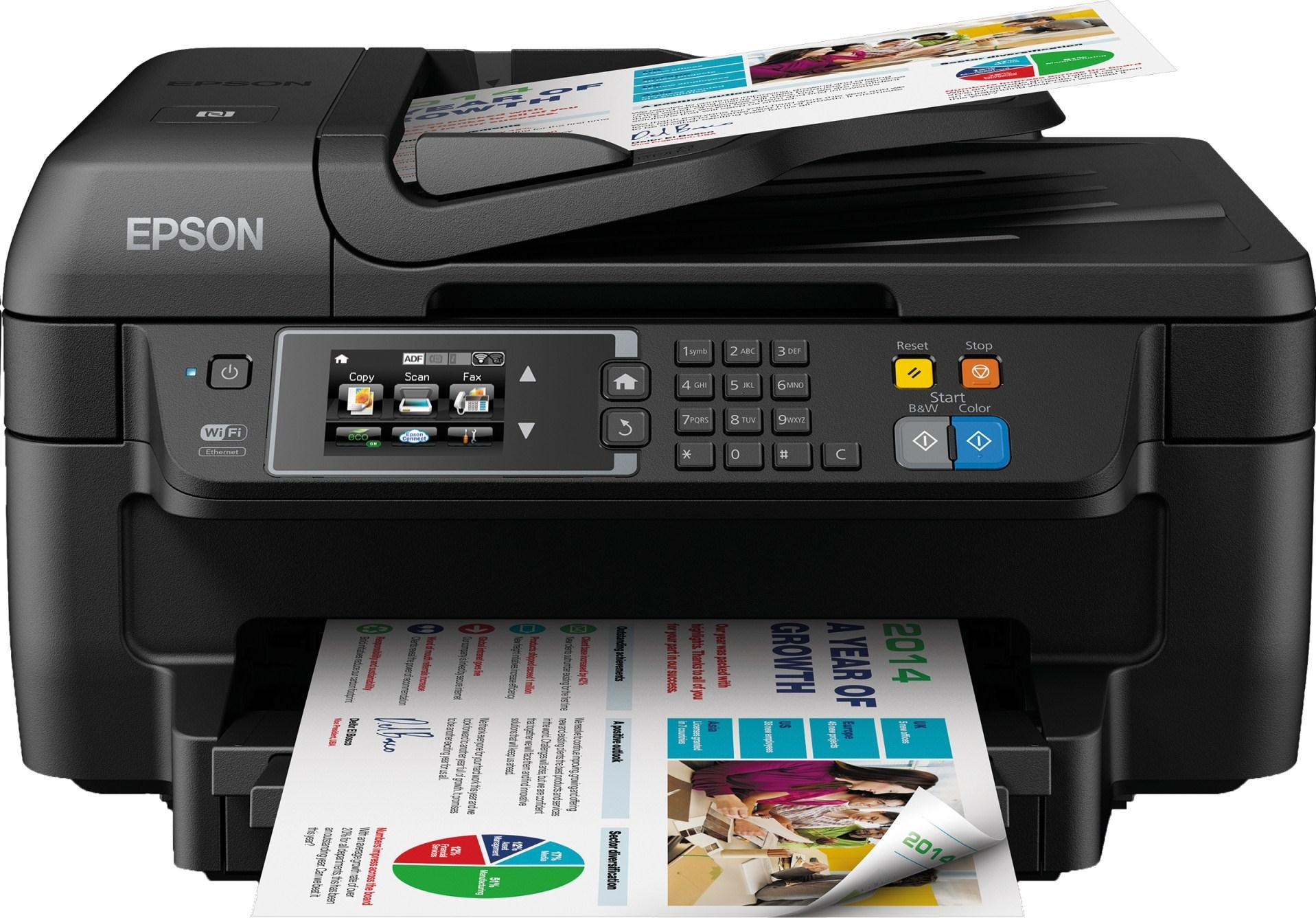 Epson Workforce WF-2660DWF All in One Colour Inkjet Printer with NFC