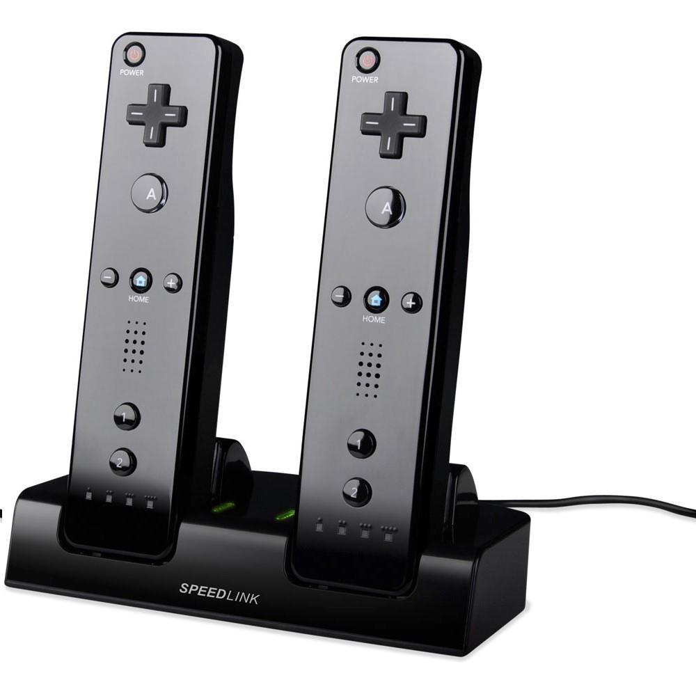 SPEEDLINK Jazz USB Charger for Nintendo Wii U/Wii - Black
