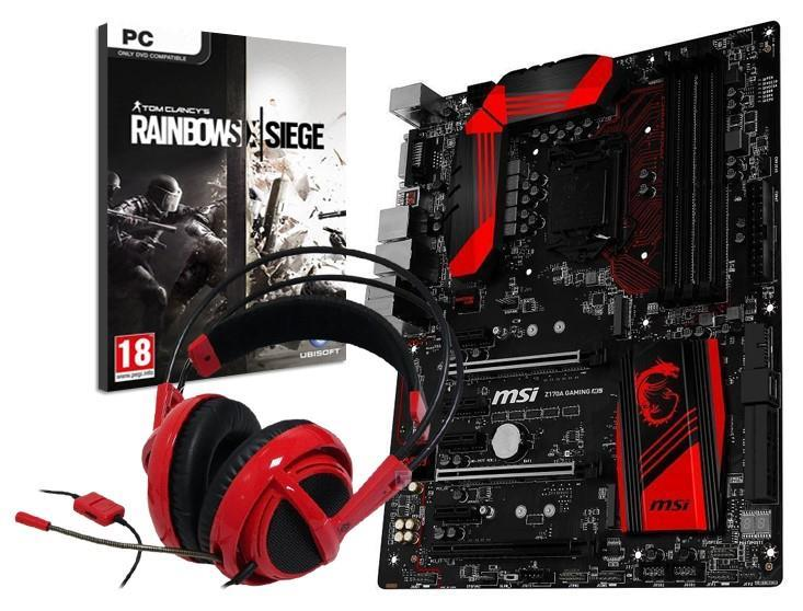 MSI Z170A Gaming M5 Motherboard and Headset and Game Bundle!
