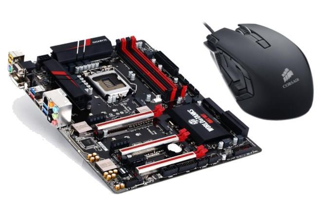 Gigabyte GA-Z170X-Gaming 3 Motherboard + Corsair M95 Gaming Mouse Bundle