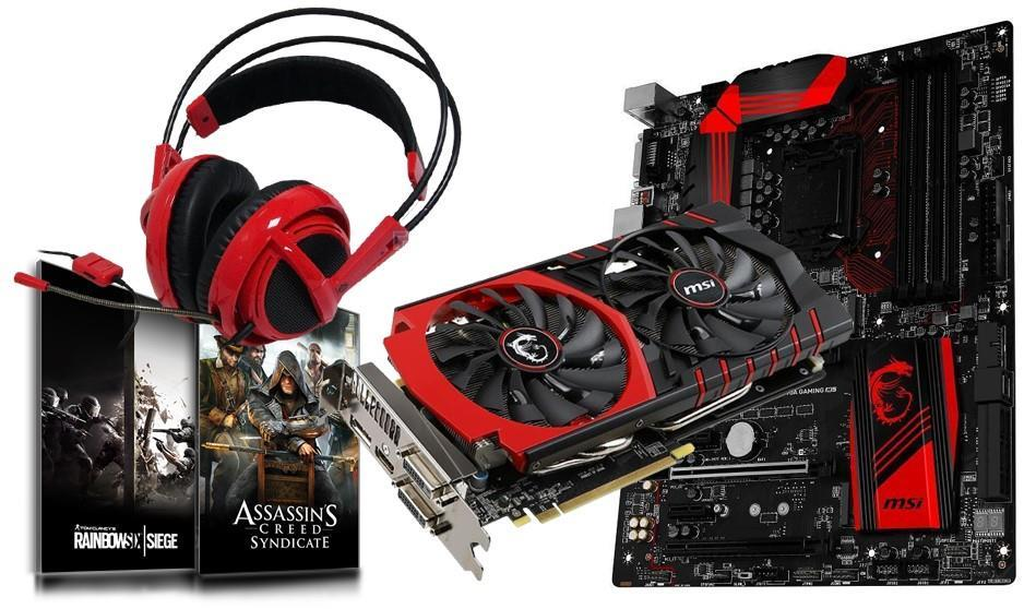 MSI MAX Your Game Experience Bundle! 170A Gaming M5 Motherboard + MSI GeForce GTX970 Gaming Video Card! + GeForce Bullets or Blades Game Promo + MSI V2 Headset! Save over £60!