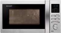 Sharp Solo R222STMS Stainless Steel Microwave Oven 800 Watts