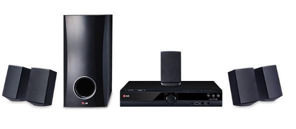 LG DH3140S 5.1 Channel 300W DVD Home Theater System
