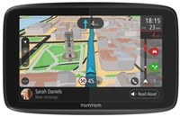 TomTom GO 5200 WiFi Sat Nav with Lifetime Worldwide Maps and Unlimited Traffic Data & Roaming