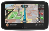 TomTom GO 6200 WiFi Sat Nav with Lifetime Worldwide Maps and Unlimited Traffic Data & Roaming