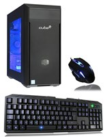 Cube Mini Valor ESports Ready Gaming PC Core i3 Dual Core with Geforce GTX 1050 2Gb Graphics Card