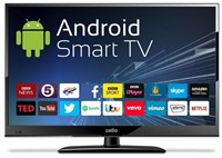 "Open Box - Cello C24ANSMT 24"" Android Smart LED TV with Wi-Fi and Freeview T2 HD"