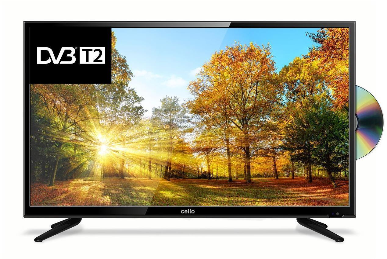 "Open Box - Cello C32227F 32"" HD Ready Freeview T2 HD TV with Built-in DVD Player"