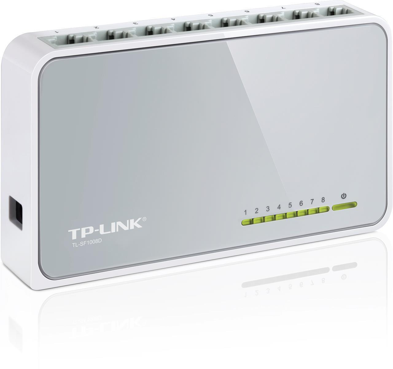TP-Link 8 Port 10/100 Network Switch
