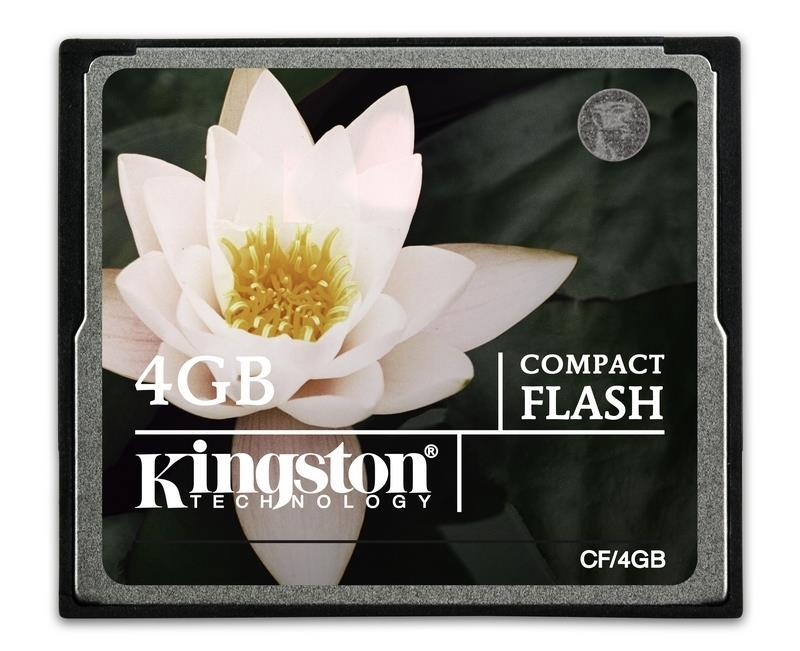 Kingston 4GB CompactFlash Memory Card