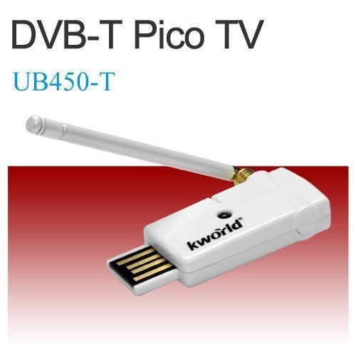 KWorld External USB TV Tuner - Digital Freeview - Teletext - HDTV