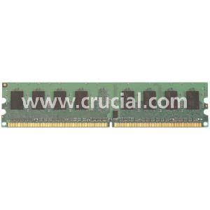 Crucial 2GB 2048MB  DDR2 800 PC2-6400 Desktop Memory