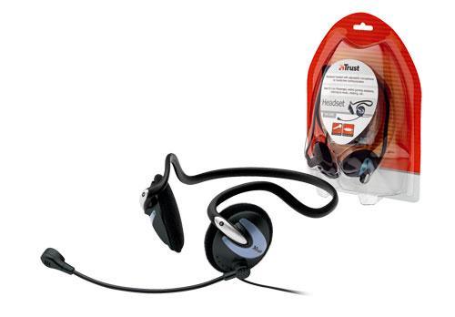 Trust HS-2200 Headset with included Microphone